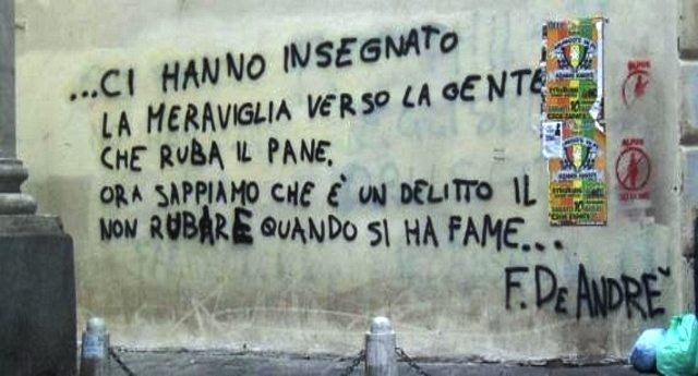 """Quando la Cassazione diede ragione a Fabrizio De Andrè: """"Rubare per fame non è reato"""" – """"annullata condanna a senzatetto sorpreso a rubare cibo"""""""