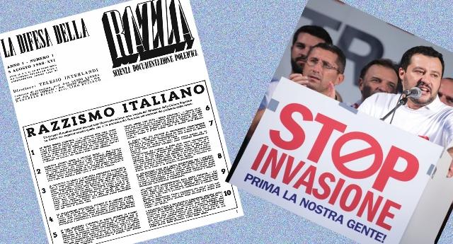 """15 luglio 1938 – 15 luglio 2018 – 80 anni dal """"Manifesto degli scienziati italiani razzisti"""". Ma, in fondo, non è che sia cambiato poi così tanto…!"""